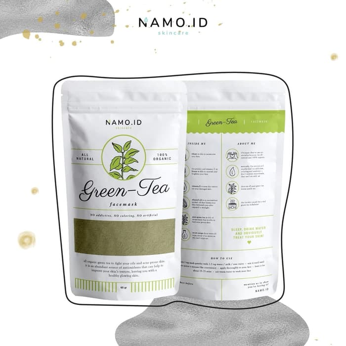 review masker namo green tea