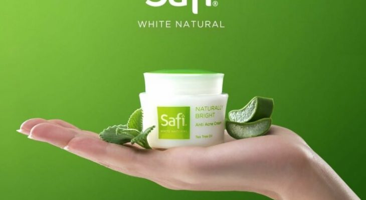 safi white natural anti acne cream tea tree oil