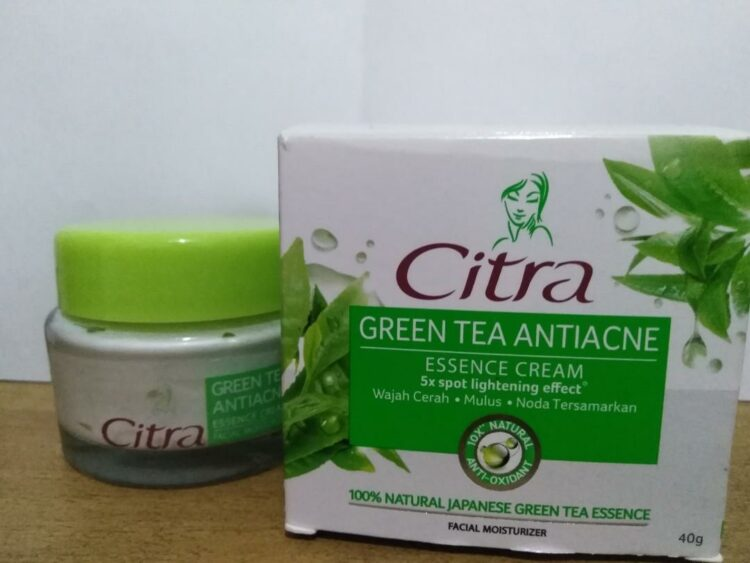 Citra Green Tea Antiacne Facial Moisturizer