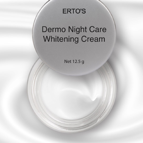 review ertos dermo night care whitening cream