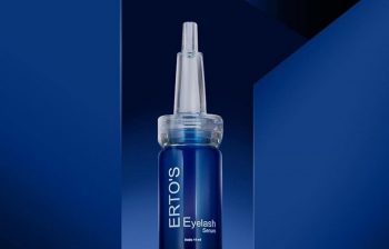review ertos eyelash serum