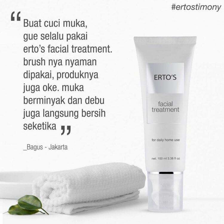 review ertos facial treatment