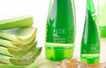 review holika holika aloe 99% shooting gel