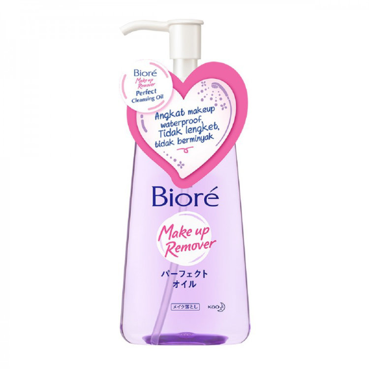 biore makeup remover perfect cleansing oil